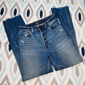 Abercrombie & Fitch Simone High Rise Ankle Jeans